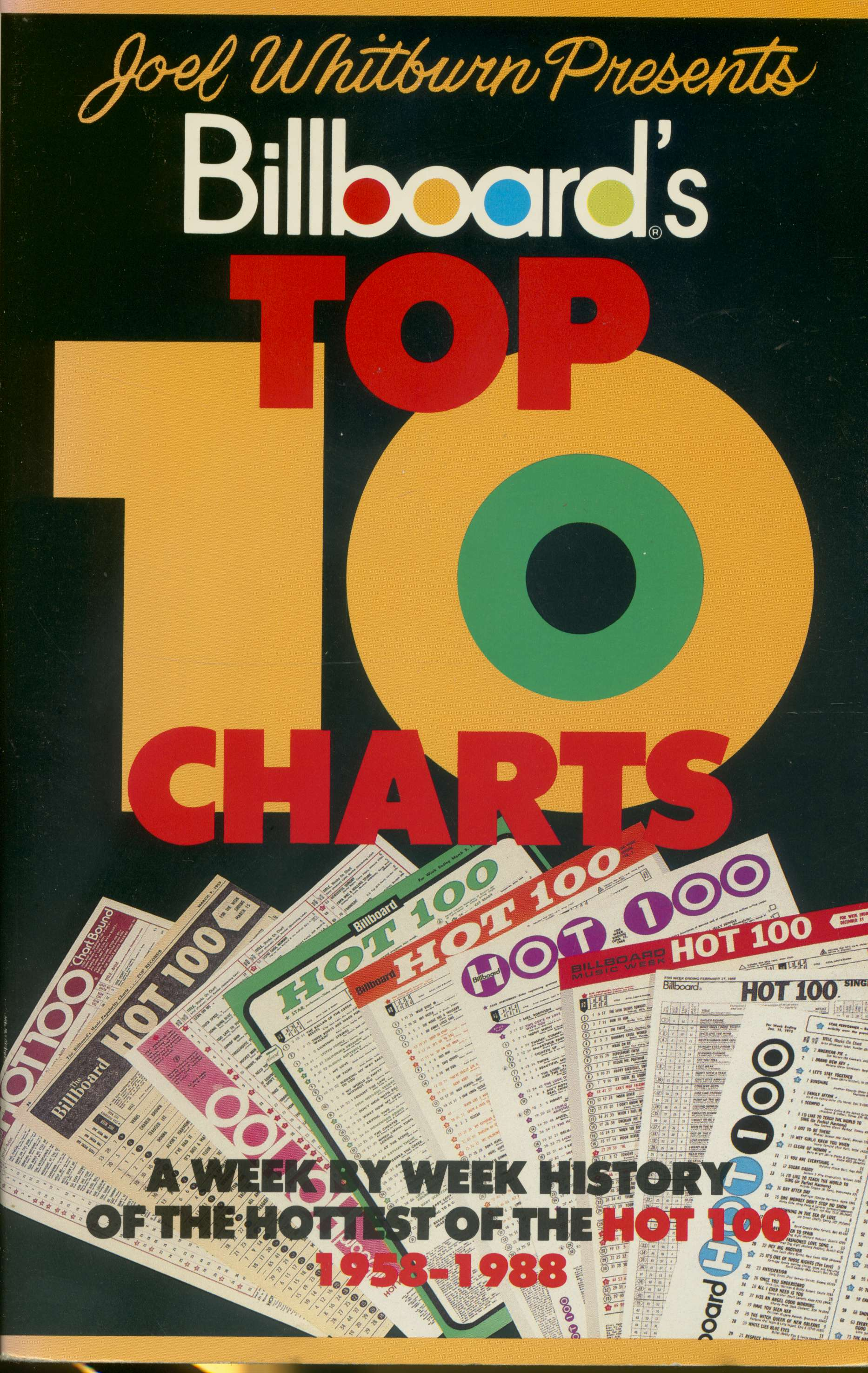Joel Whitburn Billboard Top 10 Charts
