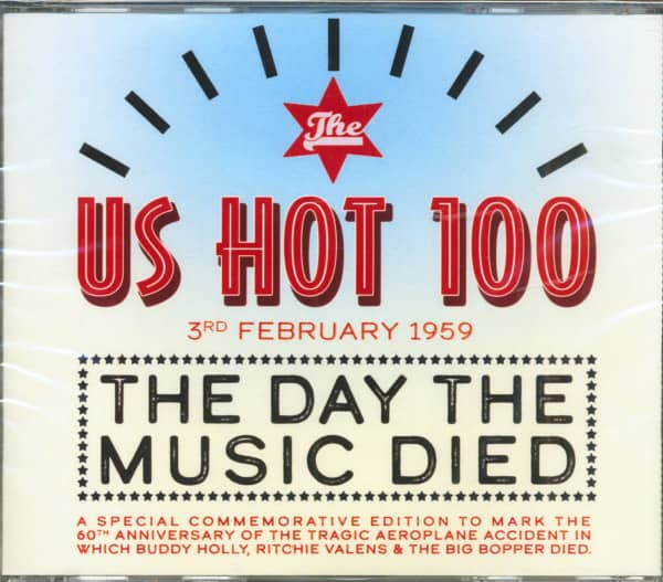 The US Hot 100 - 3rd February 1959 - The Day The Music Died (4-CD)