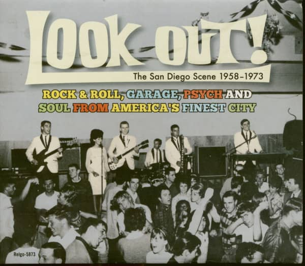 Look Out! - The San Diego Scene 1958-1973 (CD)