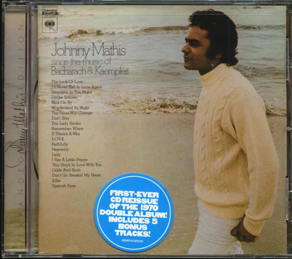 Johnny Mathis Sings The Music Of Bacharach & Kaempfert (CD)