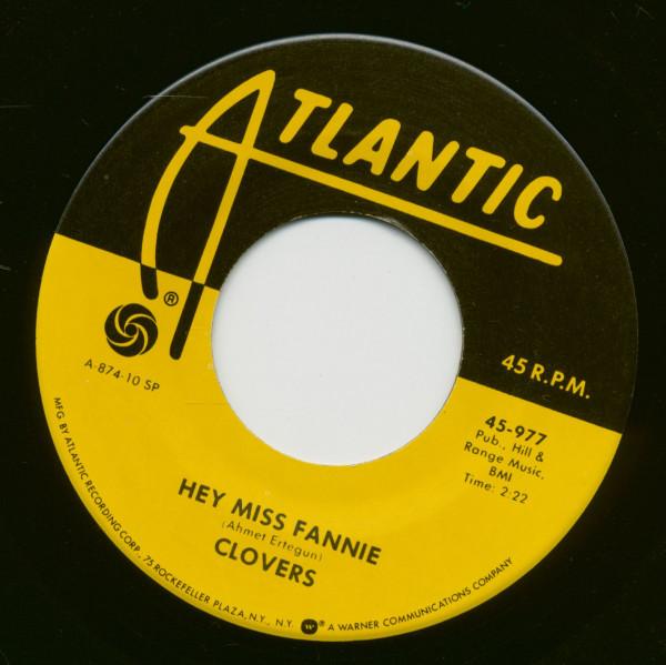 Hey Miss Fannie - I Played The Fool (7inch, 45rpm)