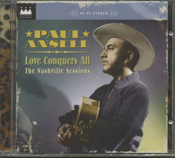 Love Conquers All - The Nashville Sessions (CD)