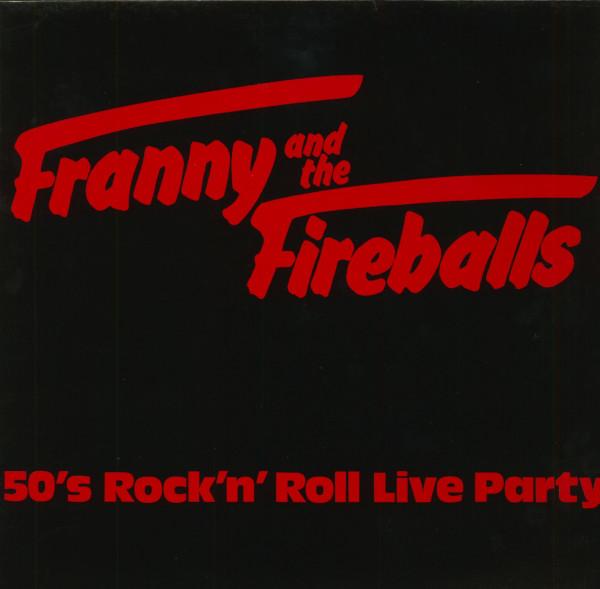 50s Rock & Roll Live Party (LP)