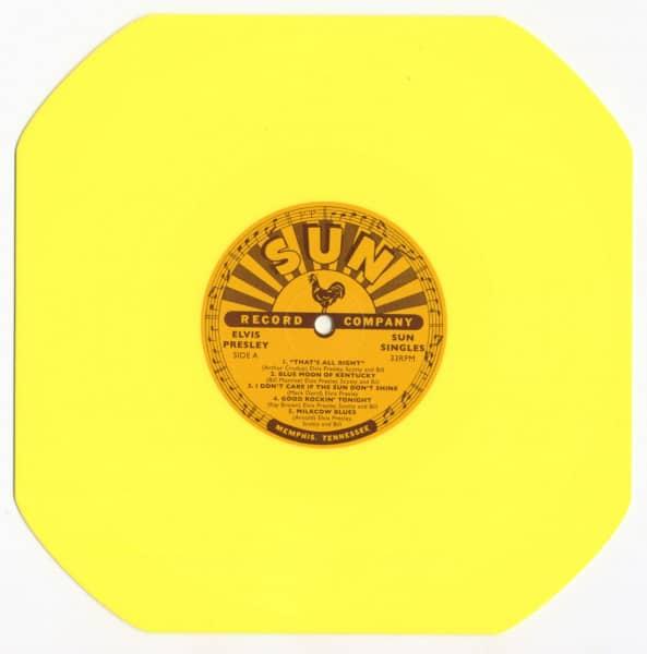 Sun Singles (10inch LP, Octagon Shape, Yellow Vinyl)