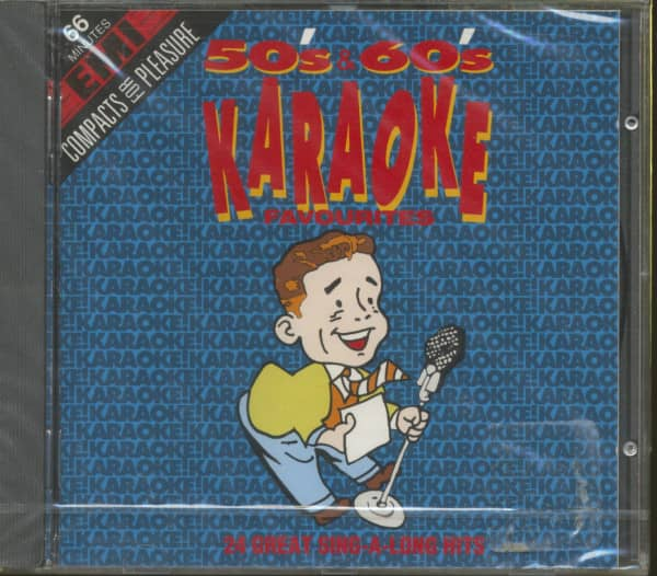 Karaoke - 50s & 60s Favorites (CD)