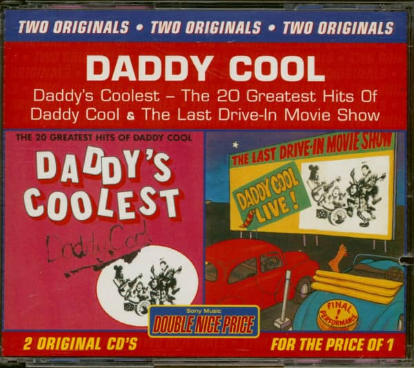 Daddy's Coolest -The Last Drive-in Movie Show (2-CD, Cut-Out)