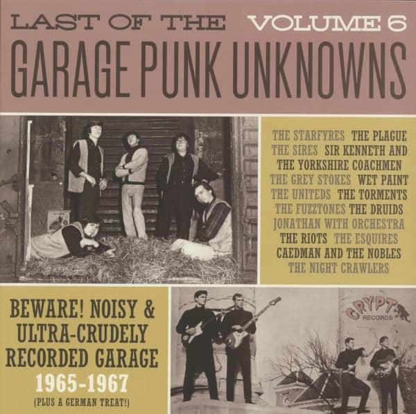 Last Of The Garage Punk Unknowns, Vol.6 (LP)