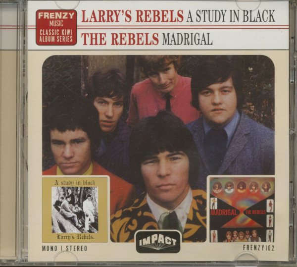 A Study In Black - Madrigal (CD)