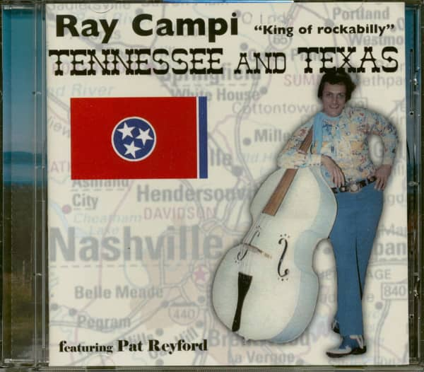 Tennessee & Texas - featuring Pat Reyford (CD)