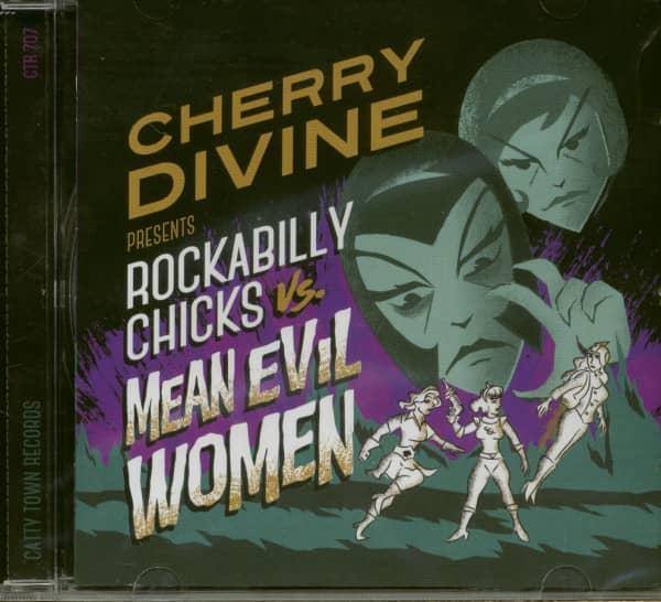 Rockabilly Chicks vs. Mean Evil Women (CD)
