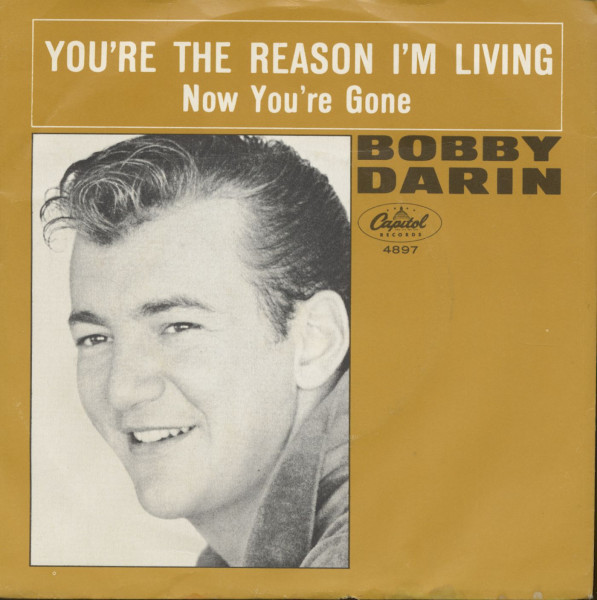 You're The Reason I'm Living - Now You're Gone (7inch, 45rpm, PS)