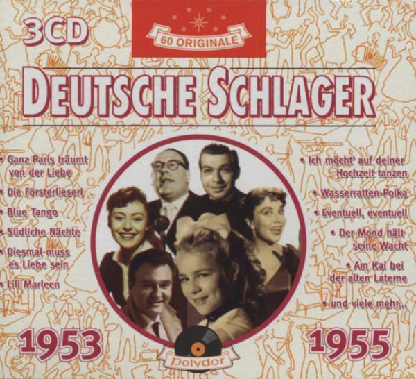 Deutsche Schlager 1953-55 (3-CD)