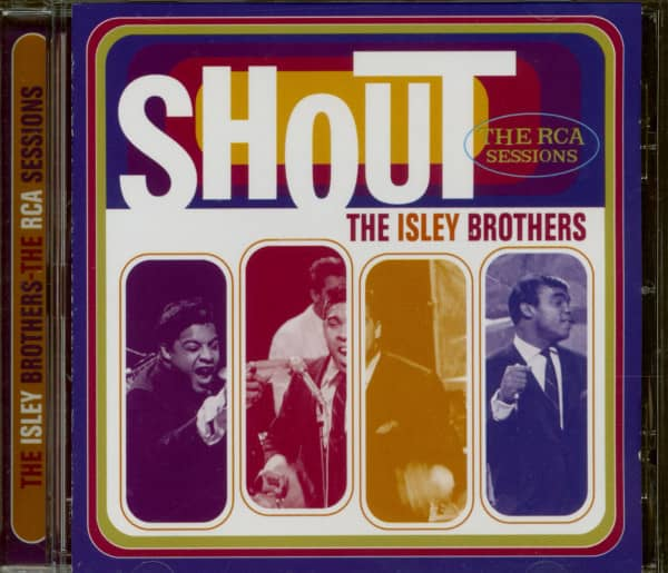 The Isley Brothers Shout - The RCA Sessions (CD)