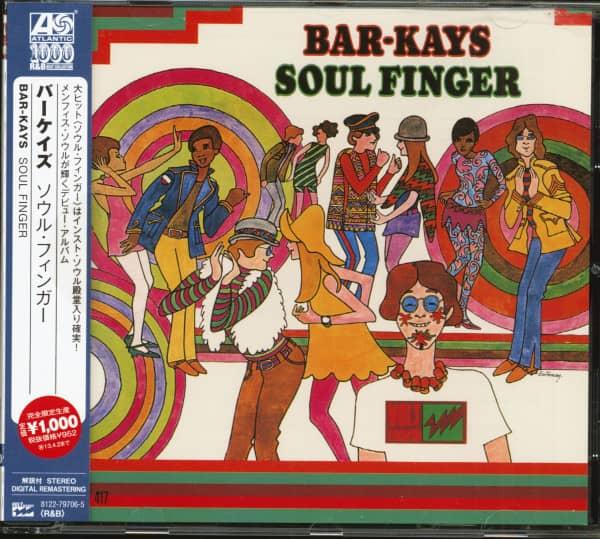 Soul Finger (CD, Japan)