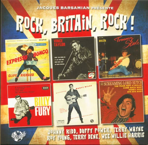 Rock, Britain, Rock! (LP, 10inch)