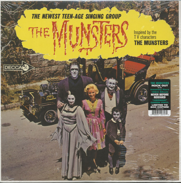The Munsters - Inspired By The T.V. Characters 'The Munsters' (LP, Ltd.)
