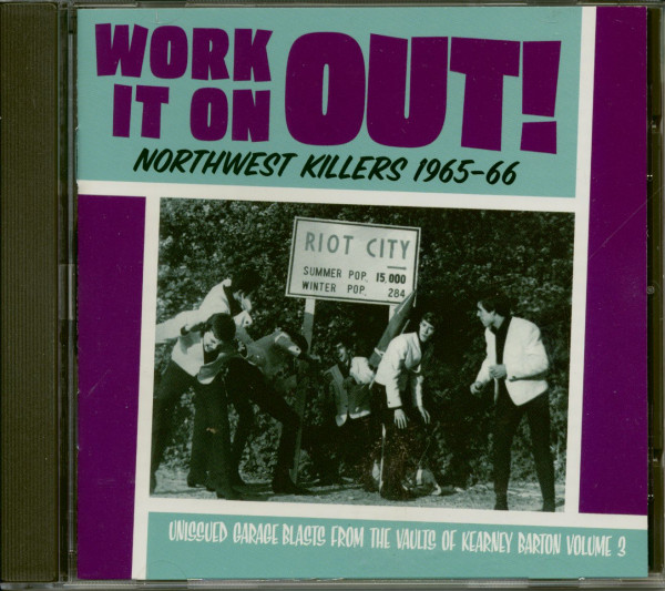 Northwest Killers Vol.3 - Work It On Out! 1965-1966 (CD)