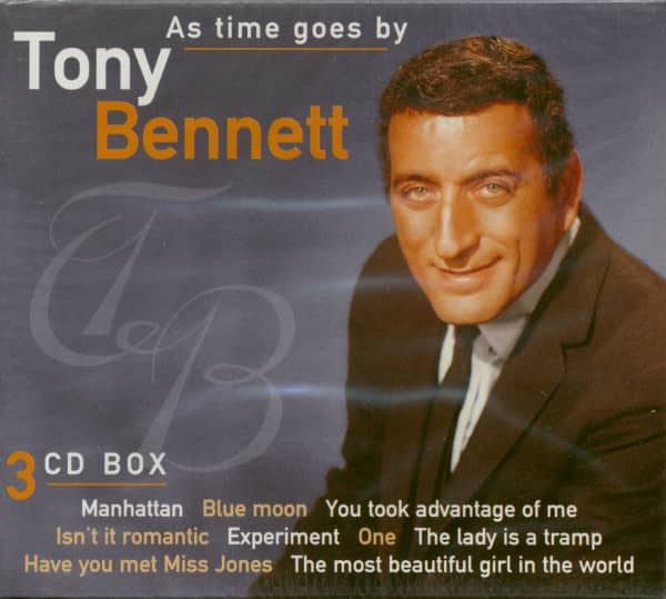 As Time Goes By Tony Benett (3-CD)
