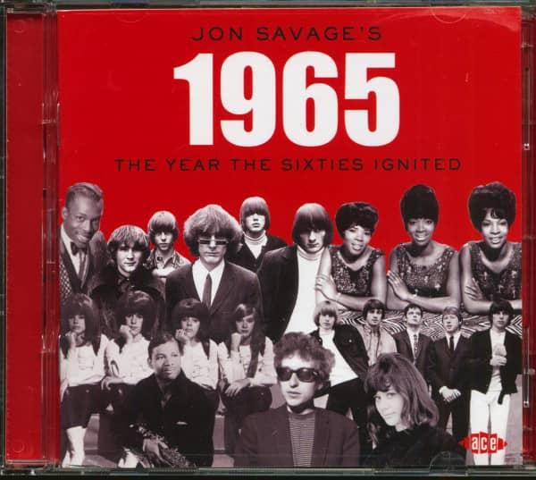 Jon Savage's 1965 - The Year The Sixties Ignited (2-CD)