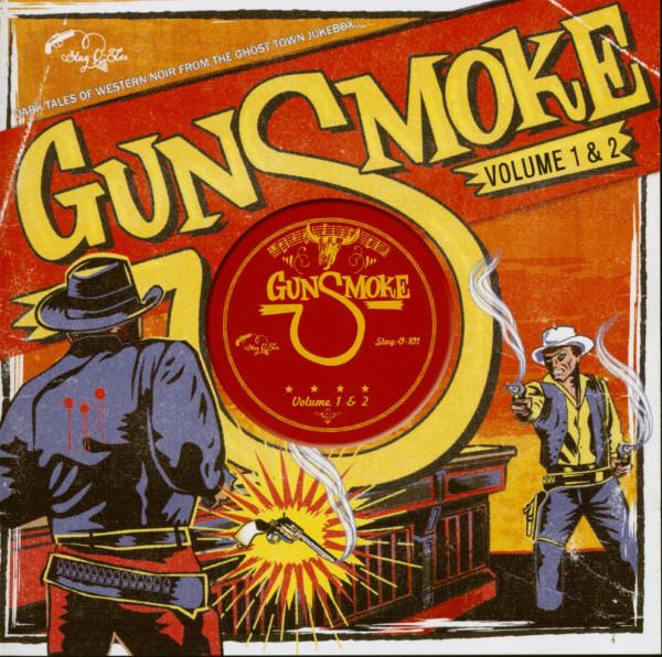 Gunsmoke Vol.1 & 2 - Dark Tales Of Western Noir (CD)