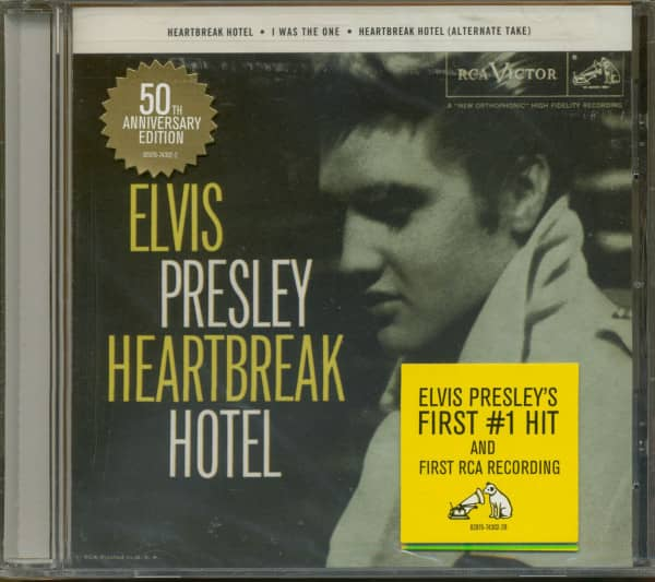 Elvis Presley Cd Heartbreak Hotel 50th Anniversary Cd