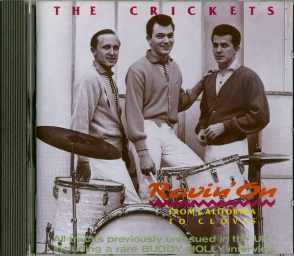 Ravin' On - From California To Clovis (CD)