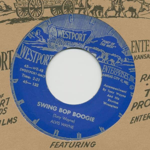 Swing Bop Boogie - Sleep, Rock-A-Roll... (7inch, 45rpm)
