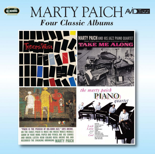 Four Classic Albums (Tenors West & Take Me Along & The Picasso Of Big Band Jazz & Lush, Latin And Cool) (2CD)