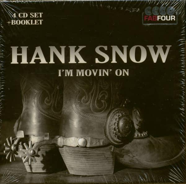 I'm Movin' On (4-CD)