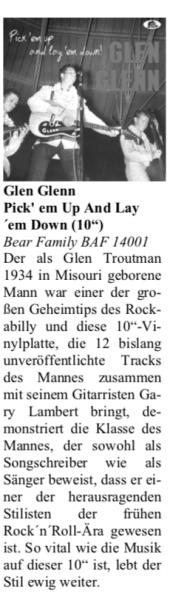 Press-Archiv-Glen-Glenn-Pick-Em-Up-And-Lay-Em-Down-Oldie-Markt