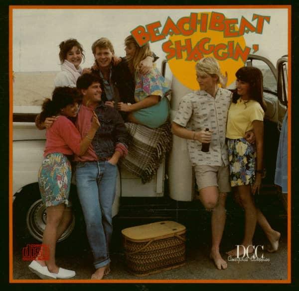 Beach Beat Shaggin' (CD)