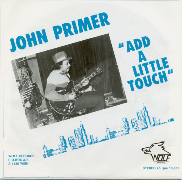 Add A Little Touch - Need Some Good Lovin (7inch, 45rpm, PS)