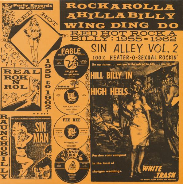 Sin Alley Vol.2 (Vinyl)