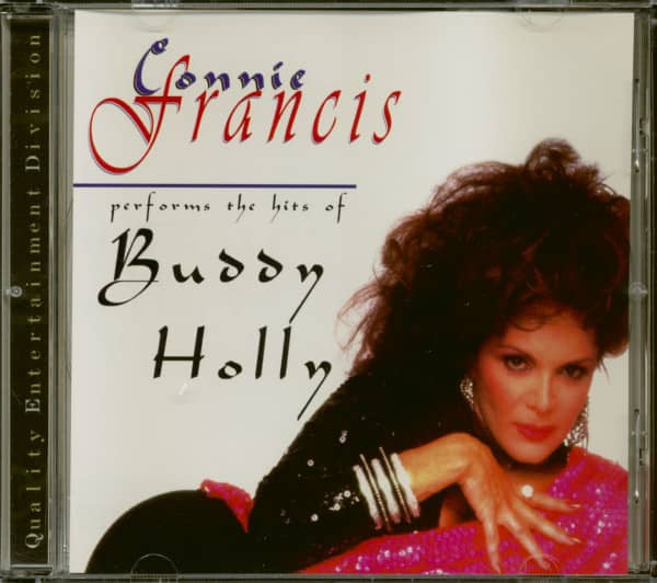 Connie Francis Performs The Hits Of Buddy Holly (CD)