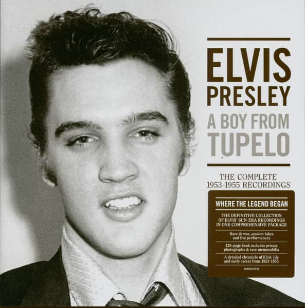 A Boy From Tupelo - The Complete 1953-1955 Recordings (3-CD)
