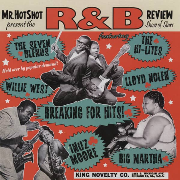 Vol.4, Mr.Hotshot's R&B Review (10'LP)