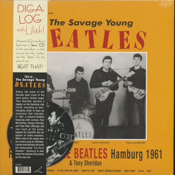 This Is ... The Savage Young Beatles (LP & CD, 180g Vinyl)