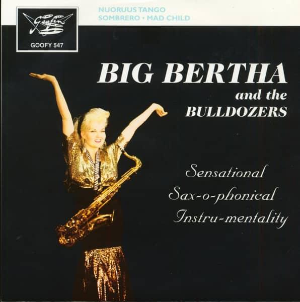 Sensational Sax-o-phonical Instru-mentality (7inch EP, 45rpm, PS, SC)