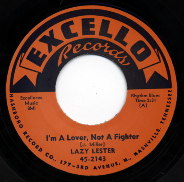 I'm A Lover, Not A Fighter b-w Sugar Coated Love 7inch, 45rpm