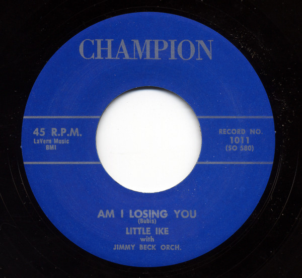 Am I Losing You b-w She Can Rock 45 rpm