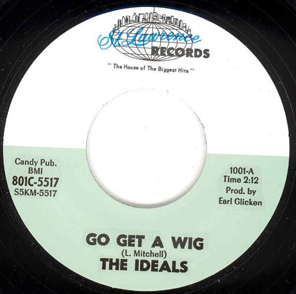 Go Get A Wig b-w Cathy's Crown 7inch, 45rpm