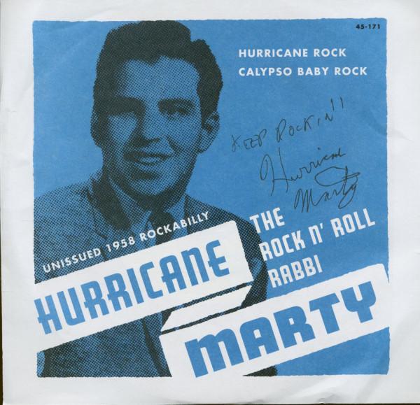 Hurricane Rock - Calypso Baby Rock (7inch, 45rpm, PS)