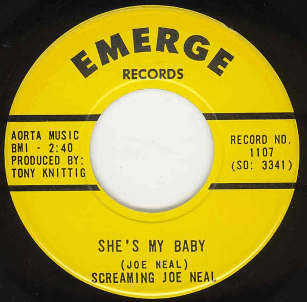 She's My Baby - Don't Quit Me Baby 7inch, 45rpm