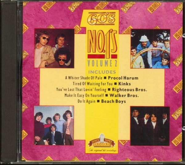 60s Number Ones Vol.2 (CD)