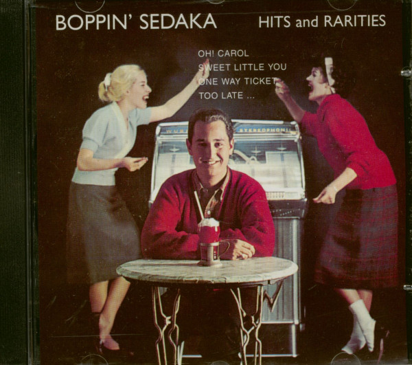 Boppin' Neil Sedaka - Hits And Rarities (CD)