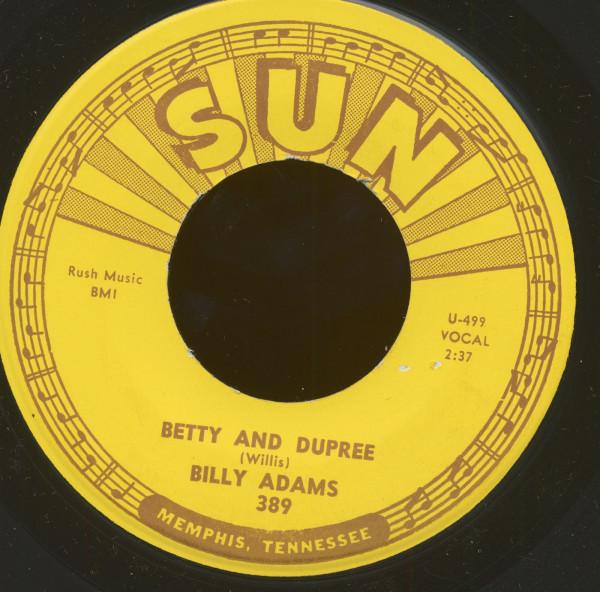 Betty And Dupree b-w Got My Mojo Workin' (45rpm, 7inch)