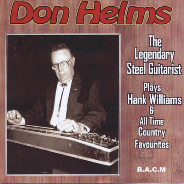 Plays Hank Williams & Other Favourites (CD)