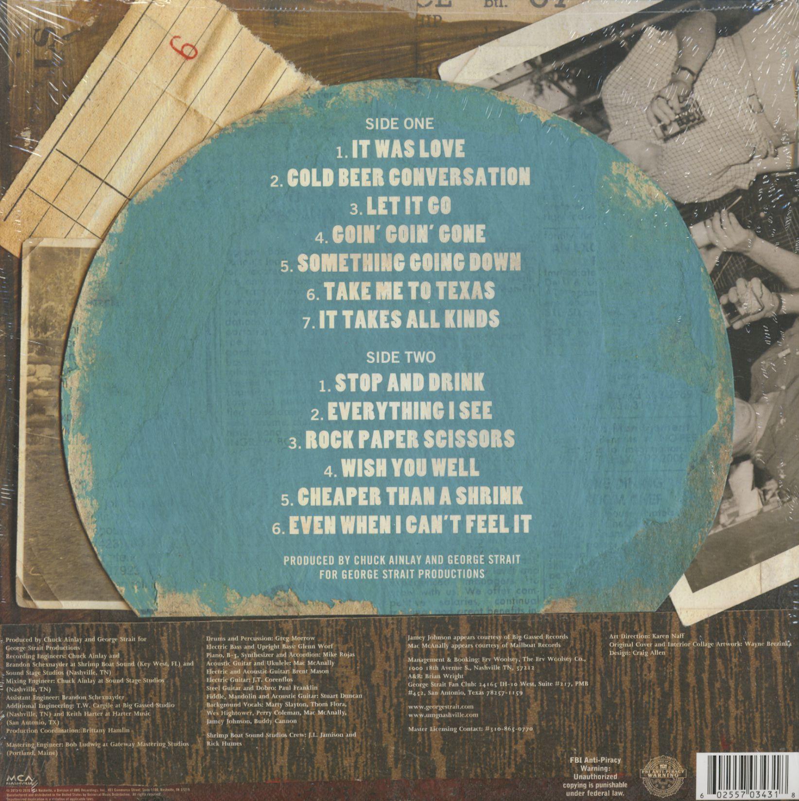George Strait Cold Beer Conversation (LP)