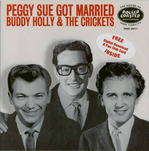 Peggy Sue Got Married (7-inch w. Picture Sleeve, red vinyl)