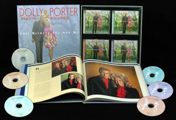 Dolly Parton & Porter Wagoner - Just Between You And Me - Complete Recordings 1967-76 (6-CD Deluxe Box Set)